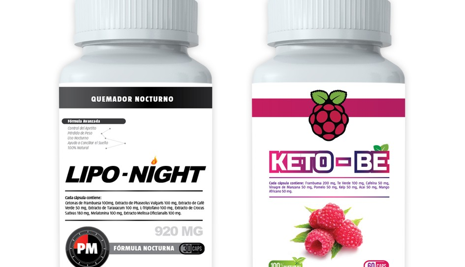 Botellas Lipo + Keto